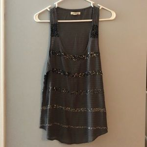 American Eagle Outfitters sparkly tank top